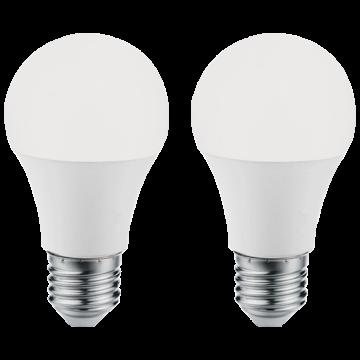Светодиодная лампа Eglo 11485 груша E27 9,5W, 4000K (дневной), гарантия 5 лет
