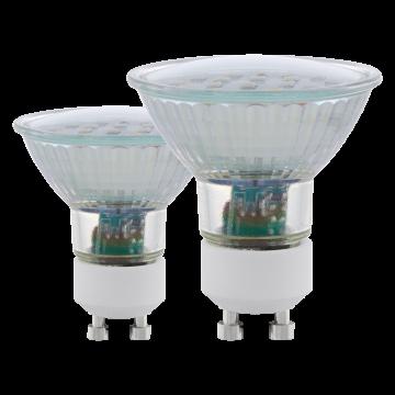 Светодиодная лампа Eglo 11539 MR16 GU10 5W, 4000K (дневной) CRI>80, гарантия 5 лет