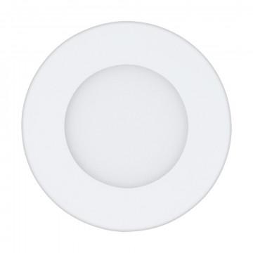 Светодиодная панель Eglo Fueva 1 96163, IP44, LED 2,7W 3000K 300lm CRI>80, белый, металл с пластиком, пластик
