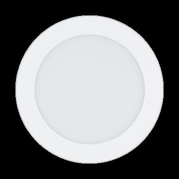 Встраиваемая светодиодная панель Eglo Fueva 1 96166, IP44, LED 10,9W 4000K 1350lm, белый, металл с пластиком, пластик