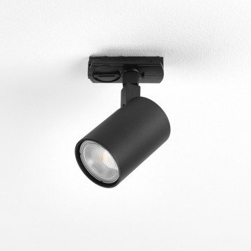 Светильник с регулировкой направления света для шинной системы Astro Ascoli 1286052 (6168), 1xGU10x50W, черный, металл