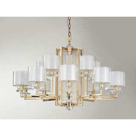 Светильник Newport 4400 4410+5/C gold (М0060956), 15xE14x60W + LED 10W