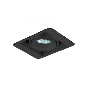 Встраиваемый светильник Donolux Lumme DL18615/01WW-SQ Shiny black/Black, 1xGU10x50W