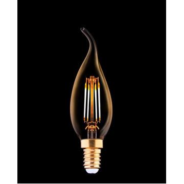 Филаментная светодиодная лампа Nowodvorski Vintage Bulb LED 9793 свеча на ветру