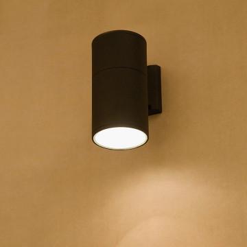 Настенный светильник Nowodvorski Fog 3402, IP44, 1xE27x60W, черный, металл, стекло