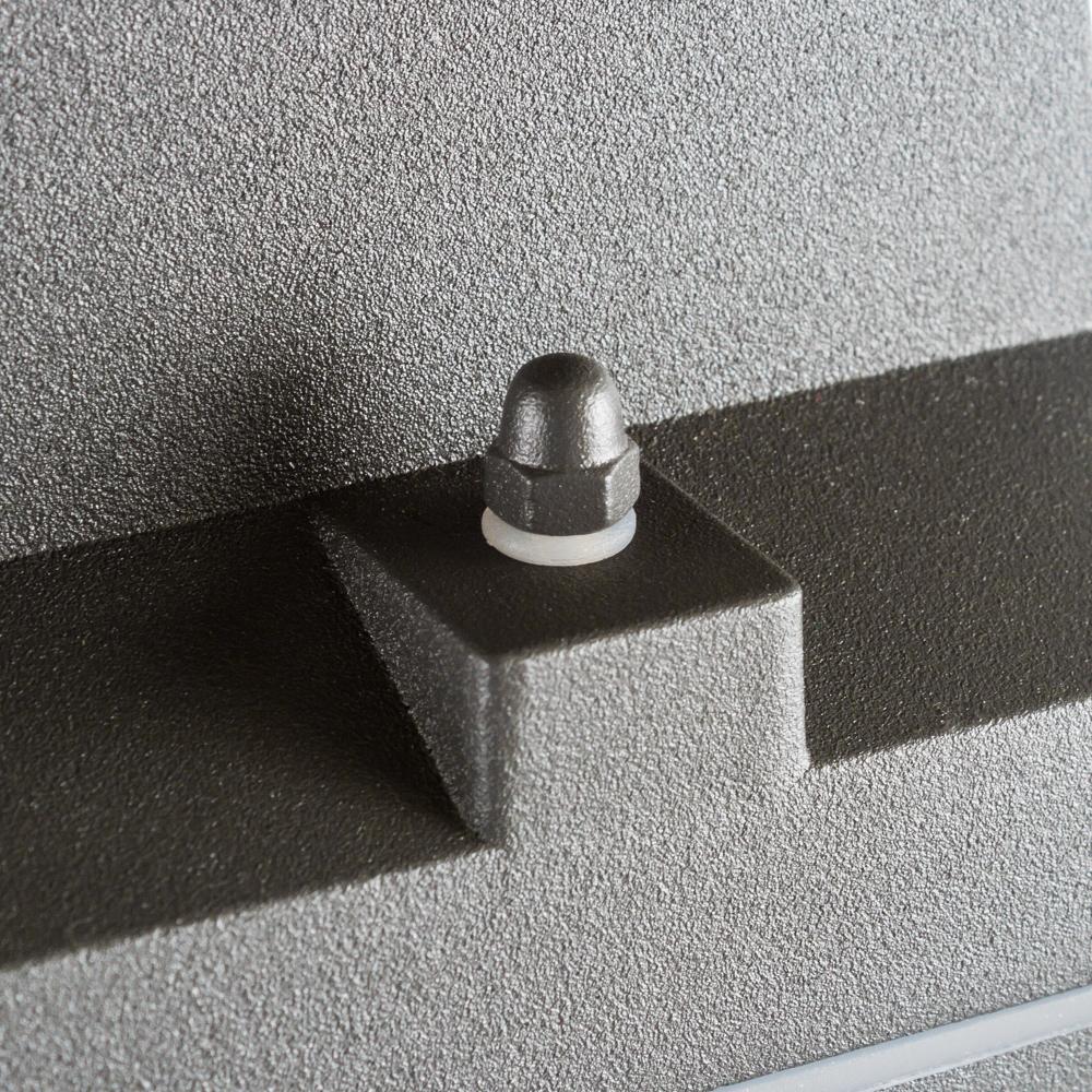 Настенный светильник Nowodvorski Rock 3407, IP44, 2xE27x60W, черный, черный с прозрачным, металл, металл со стеклом, стекло - фото 2