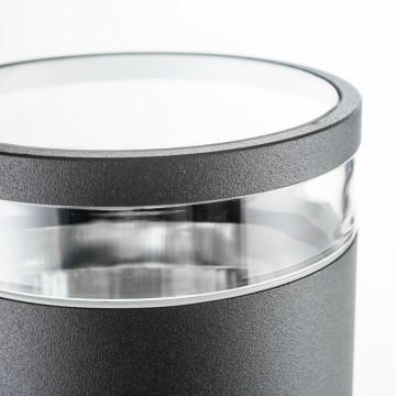 Настенный светильник Nowodvorski Rock 3407, IP44, 2xE27x60W, черный, черный с прозрачным, металл, металл со стеклом, стекло - миниатюра 3