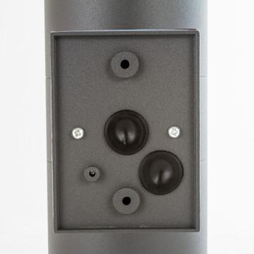 Настенный светильник Nowodvorski Rock 3407, IP44, 2xE27x60W, черный, черный с прозрачным, металл, металл со стеклом, стекло - миниатюра 5