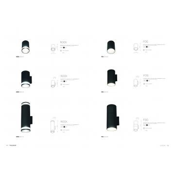 Настенный светильник Nowodvorski Rock 3407, IP44, 2xE27x60W, черный, черный с прозрачным, металл, металл со стеклом, стекло - миниатюра 6
