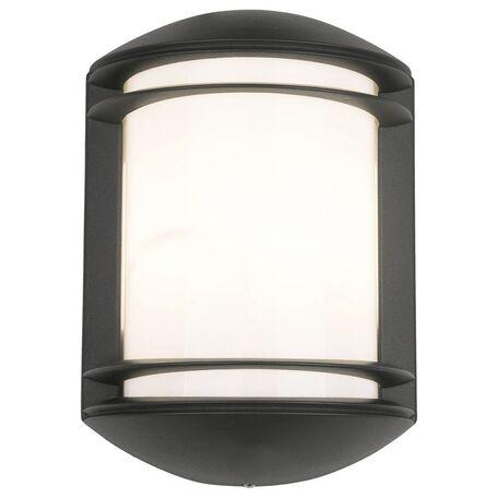 Настенный светильник Nowodvorski Quartz 3411, IP21, 1xE27x60W, белый, серый, металл, пластик
