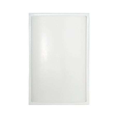 Настенный светильник Nowodvorski Garda 3751, IP65, 1xE27x23W, серебро, белый, металл, пластик