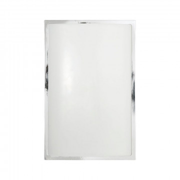 Настенный светильник Nowodvorski Garda 3752, IP65, 1xE27x23W, хром, белый, металл, пластик