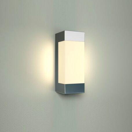 Настенный светодиодный светильник Nowodvorski Fraser 6943, IP44, LED 6W 4000K 360lm, белый, хром, металл, пластик