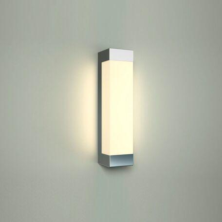 Настенный светодиодный светильник Nowodvorski Fraser 6944, IP44, LED 8W 4000K 420lm, белый, хром, металл, пластик