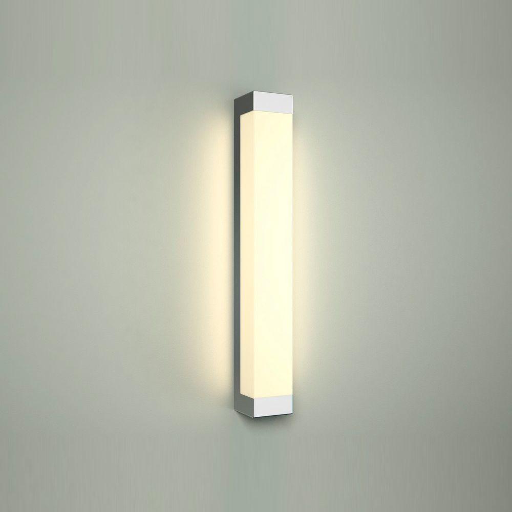 Настенный светодиодный светильник Nowodvorski Fraser 6945, IP44, LED 12W 4000K 720lm, белый, хром, металл, пластик - фото 1