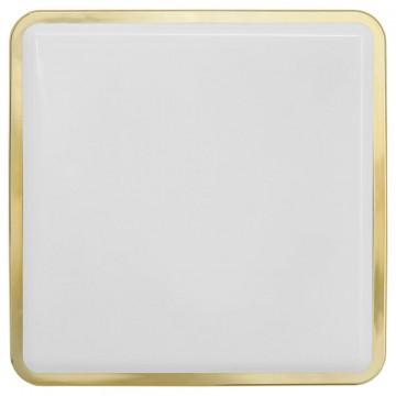 Потолочный светильник Nowodvorski Tahoe 3244, IP65, 2xE27x23W, матовое золото, белый, пластик