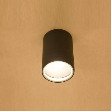 Потолочный светильник Nowodvorski Fog 3403, IP44, 1xE27x60W, черный, металл, стекло