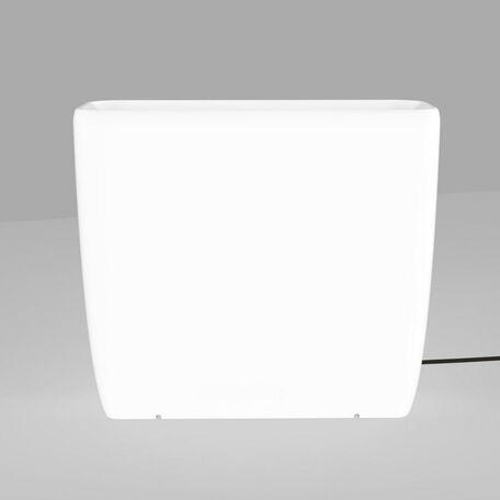 Садовый светильник Nowodvorski Flowerpot 9713, IP65, 2xE27x60W, белый, пластик