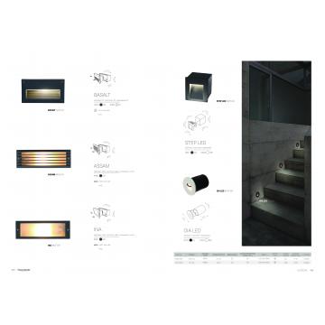 Встраиваемый настенный светодиодный светильник Nowodvorski Step 6908, IP44, LED 3W 3000K 310lm, белый, металл - миниатюра 6