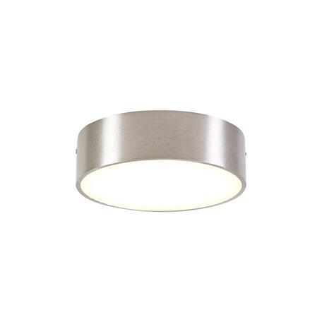 Потолочный светодиодный светильник Citilux Тао CL712121N, LED 12W 4000K 1080lm, матовый хром, пластик