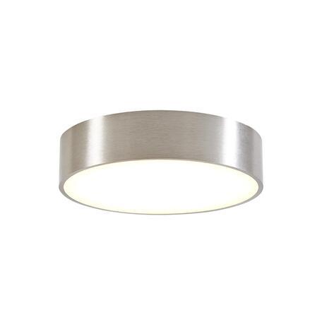 Потолочный светодиодный светильник Citilux Тао CL712181N, LED 18W 4000K 1620lm, матовый хром, пластик