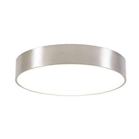Потолочный светодиодный светильник Citilux Тао CL712241N, LED 24W 4000K 2160lm, матовый хром, пластик
