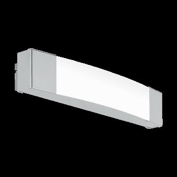 Настенный светодиодный светильник Eglo Siderno 97718, IP44, LED 8,3W 4000K 900lm, хром, металл, пластик