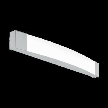 Настенный светодиодный светильник Eglo Siderno 97719, IP44, LED 16W 4000K 1800lm, хром, металл, пластик