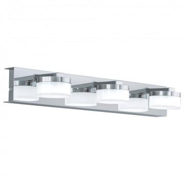 Настенный светодиодный светильник Eglo Romendo 94653, IP44, LED 13,5W 3000K 1440lm CRI>80, хром, белый, металл, пластик