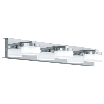 Настенный светодиодный светильник Eglo Romendo 94653, IP44, LED 13,5W 3000K 1440lm, хром, белый, металл, пластик