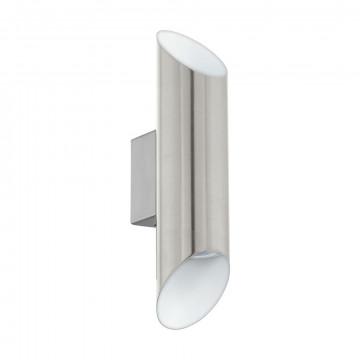 Настенный светильник Eglo Viegas 95422, 2xGU10x3,3W, никель, металл