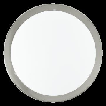Потолочный светодиодный светильник Eglo LED Planet 31254, LED 11W 3000K 950lm, никель, белый, металл, стекло
