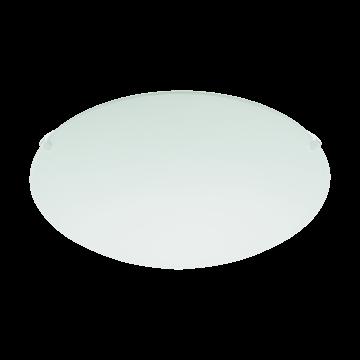 Потолочный светильник Eglo Mars 80265, 1xE27x60W, белый, металл, стекло