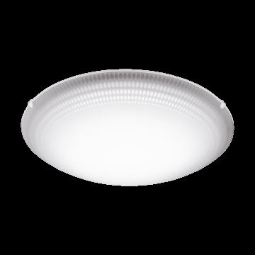 Потолочный светодиодный светильник Eglo Magitta 1 95674, LED 16W, белый, матовый, металл, стекло