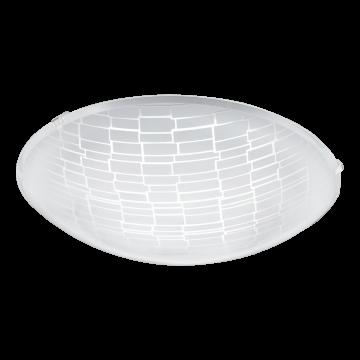 Потолочный светодиодный светильник Eglo Malva 1 96085, LED 11W, белый, матовый, металл, стекло