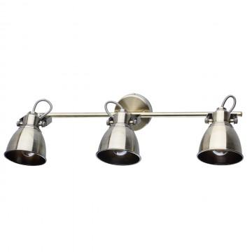 Потолочный светильник с регулировкой направления света De Markt Ринген 547020603, 3xE14x40W, бронза, металл