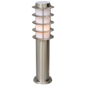 Садово-парковый светильник De Markt Плутон 809040601, IP44, 1xE27x40W, сталь, металл, пластик