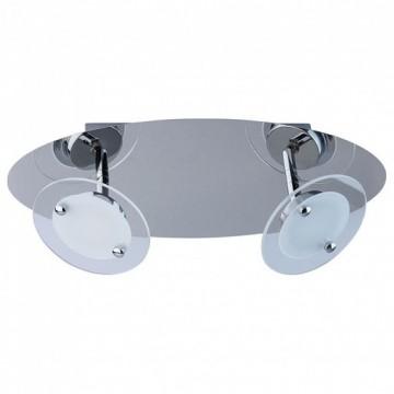 Потолочный светильник с регулировкой направления света MW-Light Граффити 678021302, хром, матовый, прозрачный, металл, стекло