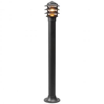Уличный фонарный столбик De Markt 803040601 Уран, черный, белый