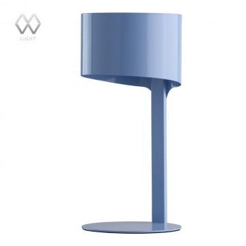 Настольная лампа MW-Light Идея 681030301, 1xE14x40W, голубой, металл