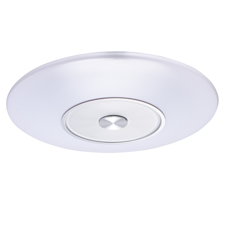 Потолочный светодиодный светильник De Markt Норден 660011801, LED 33W, белый, алюминий, металл, пластик
