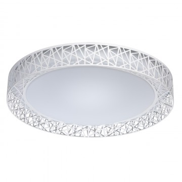 Потолочный светодиодный светильник De Markt Ривз 674012201, LED 36W 3000-6000K, белый, металл, пластик