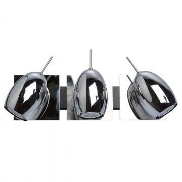 Потолочный светильник с регулировкой направления света De Markt Алгол 506021303, 3xGU10x5W, хром, металл