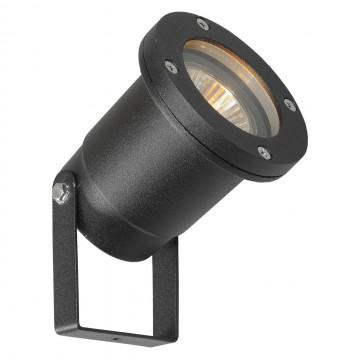 Прожектор De Markt Титан 808040301, IP65, 1xGU10x21W, черный, металл