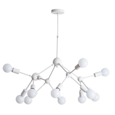 Подвесная люстра Arte Lamp City Matrix A3064SP-12WH, 12xE27x40W, белый, металл