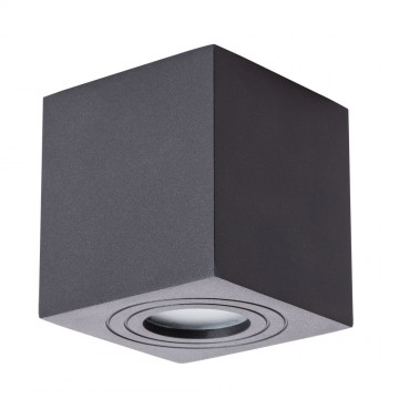 Потолочный светильник Arte Lamp Instyle Galopin A1461PL-1BK, IP44, 1xGU10x35W, черный, металл