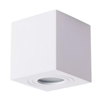 Потолочный светильник Arte Lamp Instyle Galopin A1461PL-1WH, IP44, 1xGU10x35W, белый, металл