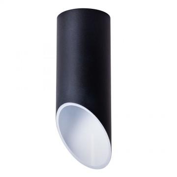 Потолочный светильник Arte Lamp Instyle Pilon A1615PL-1BK, 1xGU10x35W, черный, металл