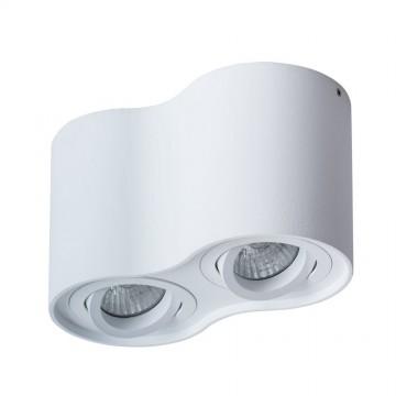 Потолочный светильник Arte Lamp Instyle Falcon A5645PL-2WH, 2xGU10x50W, белый, металл