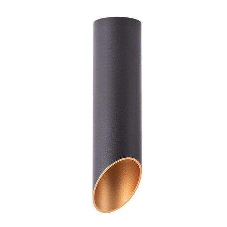 Потолочный светильник Arte Lamp Instyle Pilon-Silver A1535PL-1BK, 1xGU10x35W, черный, металл